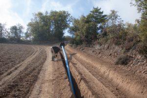 Instalación de tubos
